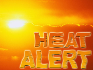 EMSA issues medical heat alert Sunday