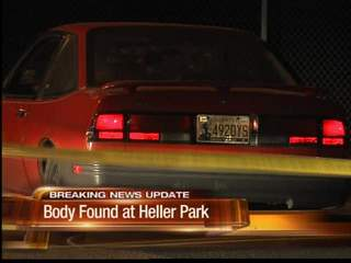 Body found in Heller Park