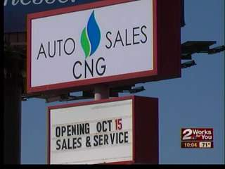 New CNG dealership makes its way to Tulsa