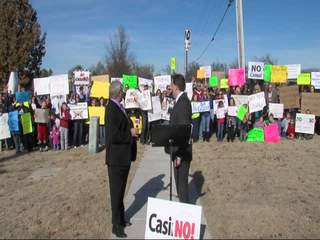 Residents oppose BA casino