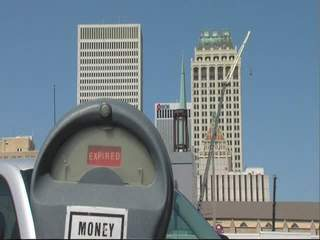 Downtown Tulsa parking meter