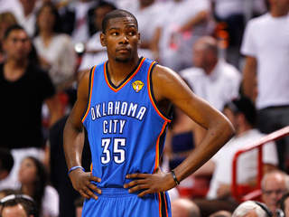 Kevin Durant Oklahoma City Thunder Game 4 NBA Finals Miami Heat