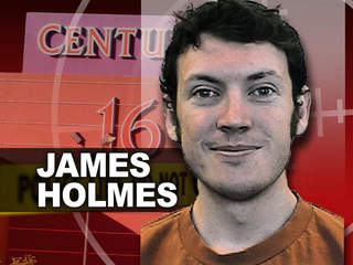James Holmes -- Colorado shooting suspect