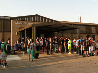 Mannford School first day of semester