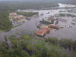 Louisiana flooding after Isaac