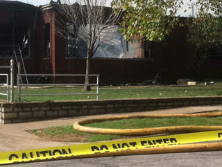 Tulsa School of Arts and Sciences fire damage