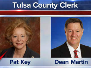 Tulsa County Clerk recount Pat Key Dean Martin