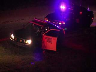 Overnight Turnpike Accident