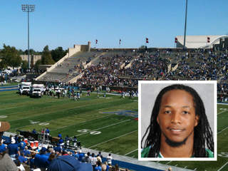 Tulane University football player Devon Walker