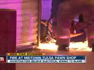 Silver Dollar Pawn Fire