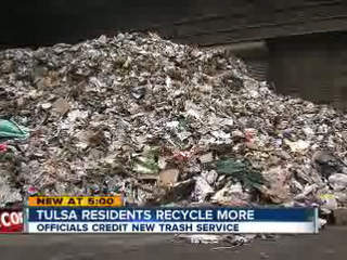 Tulsa recycles