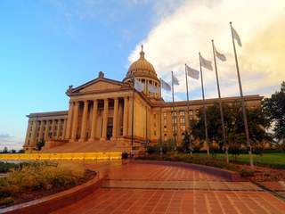 Oklahoma to mark centennial of state Capitol