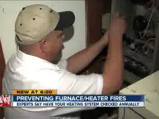 Experts urge homeowners to have heaters inspected annually