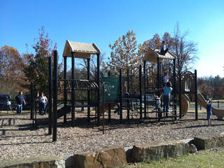 Norris Park, Tahlequah, kids playing