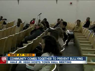 Bullying town hall meeting