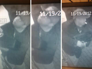 Top that Pizza burglary suspect caught on camera