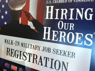 Hiring our Heroes veterans job fair