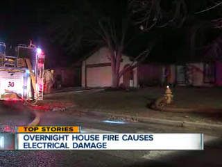 Fireplace blamed for East Tulsa house fire