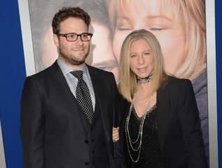 Seth Rogen and Barbra Streisand