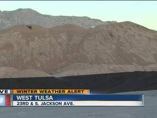 Road crews prepping for Christmas Day snow