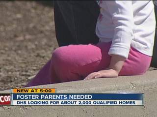 Foster Families, unidentifiable child