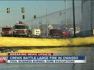 Businesses charred after Owasso fire