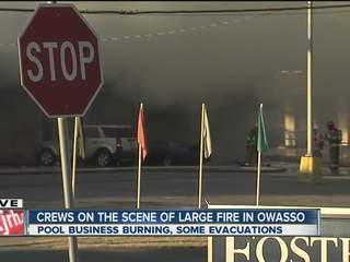 Pool Supply Fire Owasso