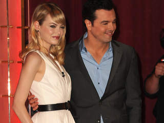 Emma Stone and Seth MacFarlane