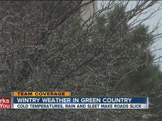 Winter weather heads to Green Country