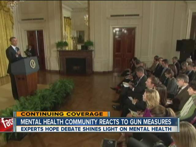 gun control versus mental illness 82 gun violence and mental illness laws intended to reduce gun violence that focus on a population rep-resenting less than 3% of all gun violence will be extremely.