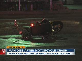 Man killed in Peoria motorcycle crash