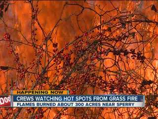 300 Acres destroyed in Sperry fire
