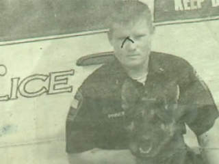 Sgt. Mycal Prince and canine partner Bayca