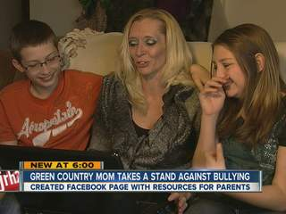 Bullying website for parents