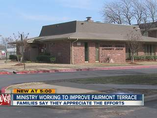 A ministry is working to improve lives for kids and parents at Fairmont Terrace