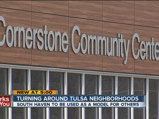 Tulsa center helps troubled neighborhood