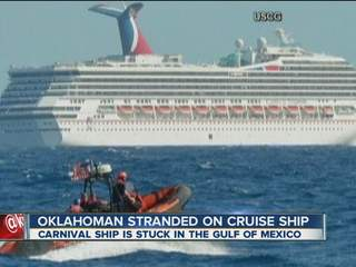 Stranded Cruise Ship