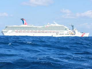 Crippled Carnival Cruise Ship Triumph