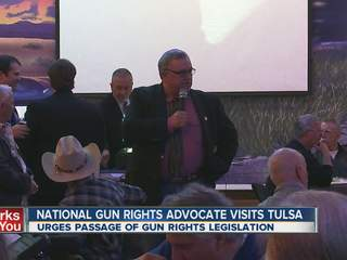 Gun rights group visits Tulsa