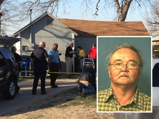 West Tulsa homicide scene and victim Robert Sampson