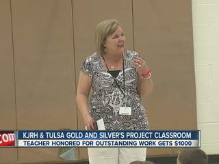 Coweta teacher honored with award