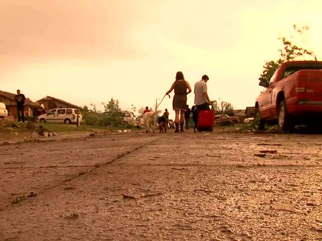 Dan Pearlman reports from Moore, OK