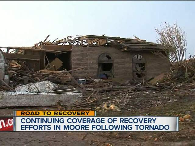Hard recovery begins in Moore