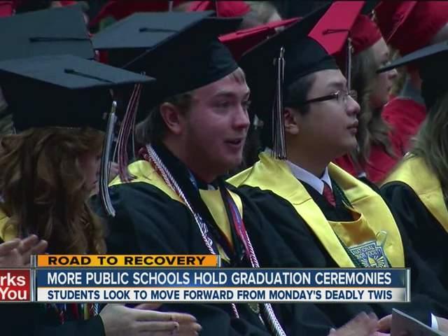 Moore Public Schools hold graduation