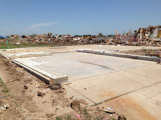 Rebuilding homes in Moore a slow process