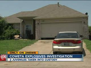 Coweta teens arrested in bomb scare