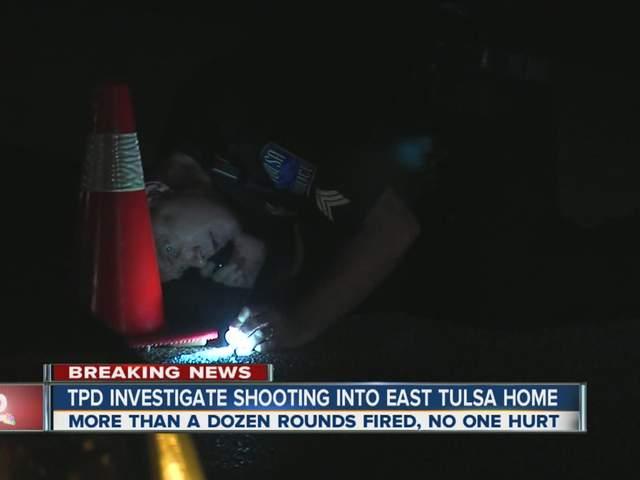East Tulsa Shooting  Injured  Dozen Shots Fired