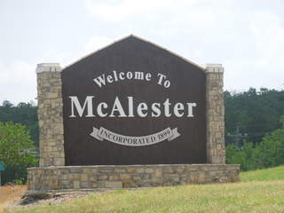McAlester named Oklahoma Clean Community