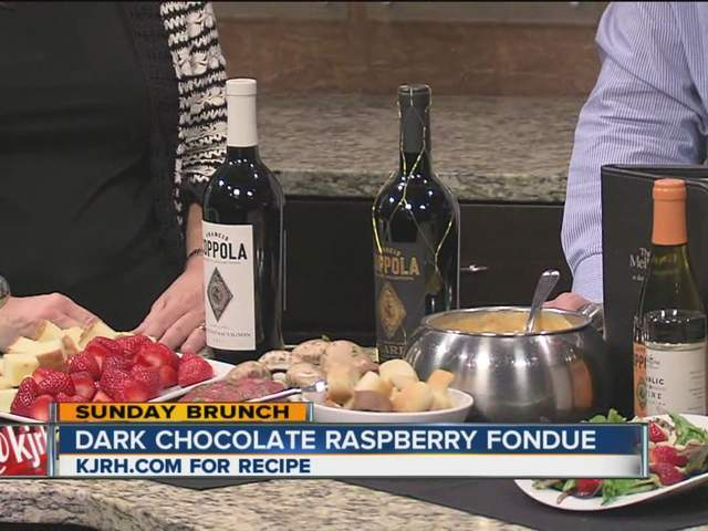 ... Brunch | Melting Pot makes Raspberry Dark Chocolate Fondue - KJRH.com