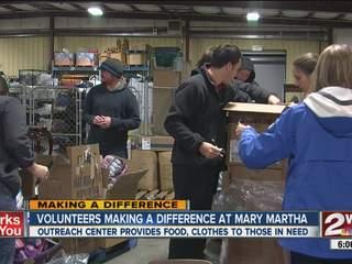 Volunteers helping needy in Bartlesville
